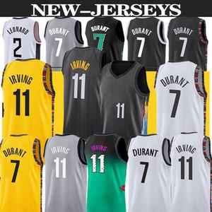 James 13 Harden Jersey Kevin 7 Durant 11 Irving Basketbol Forması 2020 2021 Kyrie Yeni Şehir Erkek Basketbol Formaları Sıcak Satmak