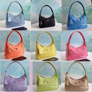 2020 Máscara de diseñador Bolsas de lujo Bolsas de las mujeres Crossbody Bolso Genuine Nylon Bolsos Bolsos Lady Tote Bags Monedero