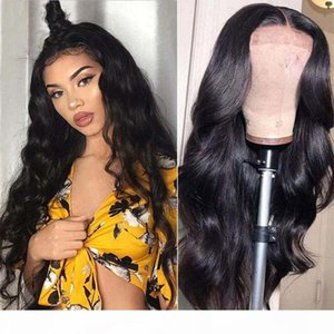 360 Lace Frontal Wig Full Lace Wigs Brazilian Body Wave Human Hair Wig Bleached Knots Pre-Plucked Natural Hairilne For Women Free Shipping