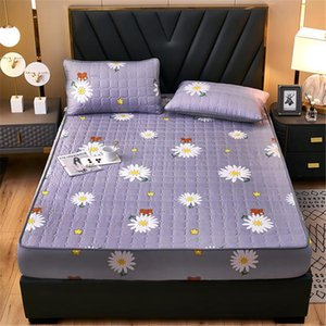 Sheets & Sets Anti-mite And Anti-bacterial Quilted Bed Sheet Bedspread Protection Cover(case Not Included)