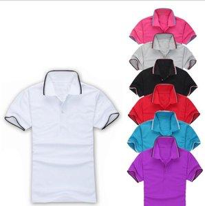 Frühlingsluxus-T-Shirt Designer Polo shirts High Street Stickerei Druckkleidung Herrenmarke Poloshirt