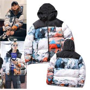 2021 Autunno europeo e americano e inverno Big Size Down in cotone Giacca imbottita in cotone Classic Giacca doppia giacca da uomo e da donna Stessa coppia di cotone P