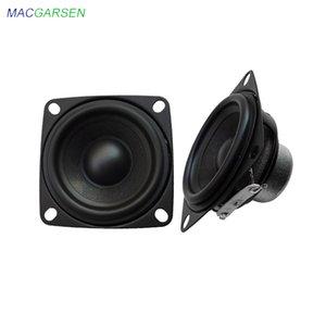 2pcs 2Inch Audio Full Range Computer TV Speaker 4 Ohm 10W PC Sound DIY Bluetooth-compatible 53mm HIFI Music Portable Loudspeaker