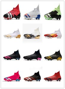 New men Predator 20+ FG Mutator soccer cleats 20.1 Human Race soccer shoes fully knitted waterproof soft artificial turf AG football shoes