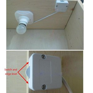 202A Self-resetting Normally Close Switch Wardrobe Cupboard Light Sliding Switch