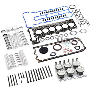 Engine Overhaul Pistons Gasket Kit For BMW 335i E90 E92 E88 E60 E71 F02 N54 3.0