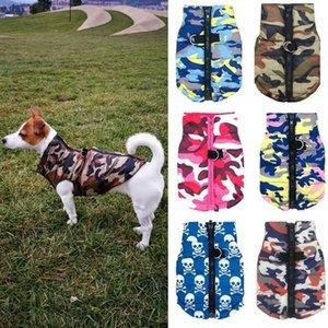 2021 معطف ماء الشتاء التمويه جرو الملابس الصغيرة الكلب سترة wram chihuahua yorkie الملابس petshop ropa الفقرة perro xs-l