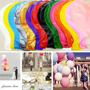 Thickened Oversized Round Dig Balloons Inflated 36 Inch Wedding Decoration Festivals Large Balloons Valentines Day Dcor Balloon GWF5083