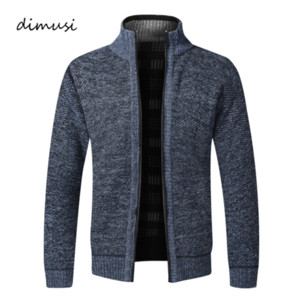 Men's Sweaters Winter Men Thick Warm Knitted Sweater Jackets Cardigan Coats Male Casual Slim Fit Knitted Clothing kg-531