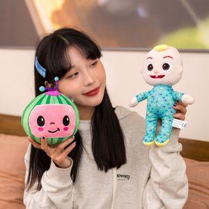 CoCoMelon Plush Animation JJ Action Toy Figures Doll Watermelon Children's Gift Super Baby JoJoed pp cotton