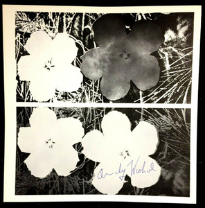ANDY WARHOL FLOWERS Home Decor Handcrafts  HD Print Oil Painting On Canvas Wall Art Canvas Picture 210220