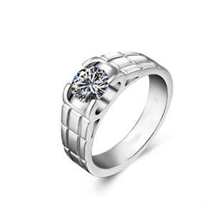HBP fashion luxury autumn new men's ring set with 8.0 zircon