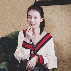 Kadın Sonbahar V Boyun Patchwork Hırka Kazak Ceket Beyaz Gevşek Artı Boyutu Uzun Kollu Çekin Femme Jersey Örme Üstleri V191130