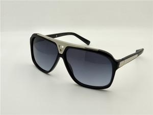 Classic Pilot Evidence Sunglasses Silver Black Grey Gradient Sun Glasses Mens Fashion Sunglasses Shades with case