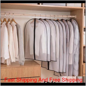 Clothes Dustproof Cover Garment Organizer Suit Dress Jacket Clothes Protector Pouch Clear Waterproof Zipper Tra jllCSK sport77777