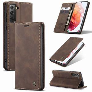 CAS POUR SAMSUNG GALAXY S20 S21 ULTRA PLUS FE EDIME FE EDITION FAST COUVERTURE Magnétique Portefeuille Portefeuille de luxe Sac de téléphone pour Samsung S 21