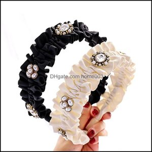 Headbands Jewelry Jewelrypersonalized Women Girls Cute Folds Simple Hairbands Sweet Headband Hair Hoops Hairband Fashion Hairs Aessories Dro
