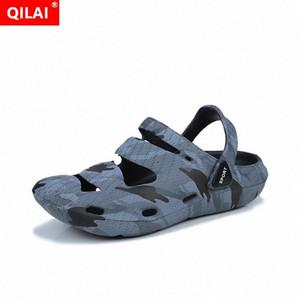 Pantofole da uomo 2020 paio di modelli di coppia scarpe da uomo moda uomo e donna scarpe da giardino di grandi dimensioni sandali da uomo semplice acqua o29h #