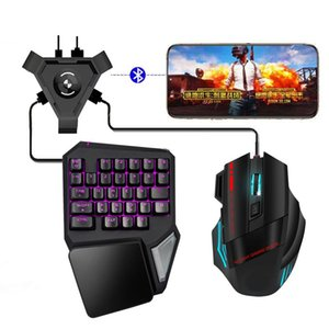 3pcs Gaming Keyboard Mouse Converter Set Mobile Gamepad Controller for Smart Phone GK99