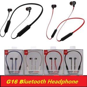 G16 Беспроводные наушники Магнитные Bluetooth Наушники с микрофоном Вочные спорты Bluetooth 4.2 Гарнитура для телефона iPhone Xiaomi