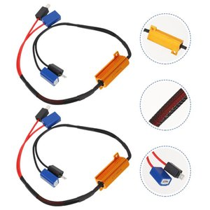 Other Lighting System 1 Pair H1 H3 LED Decodes Car Anti-Flashing Decoders For Turn Signal Fog Lamp