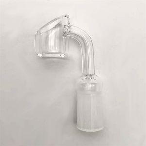Quarz Banger männlich weiblich 10/14 / 18mm 90 Grad 4mm dicker Quarz Nagel für Glas Bong DHL Freies Verschiffen 272 V2
