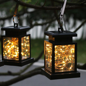 Solar outdoor LED home decorative light waterproof outdoor villa garden light garden landscape star candle light