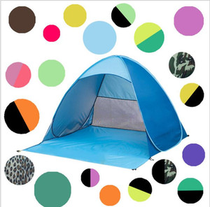 Quick Automatic Opening Hiking Camping Tents Outdoors Shelters 50+ UV Protection Tent for Beach Travel Lawn Home tents