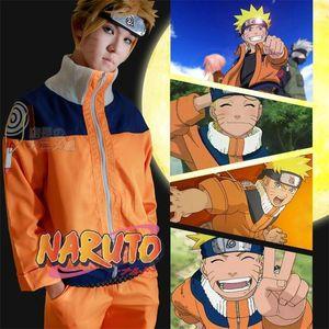 Hot New Anime Uzumaki Naruto Cosplay Costumes Men Women Children Naruto Clothing High Quality Suit Support Customization