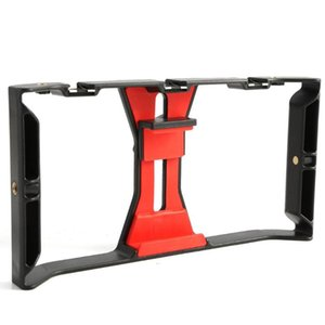 Видеокамера Кейдж-стабилизаторная пленчашка Буксировка для смартфона Видеограмма Видеоустановка Мобильный телефон Ручной рукоятки Устанавливатель кронштейна Стабилизатор