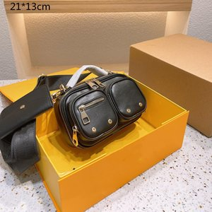 2021 Unisex Luxury Camera Bags Handbags 2-Pic Designers Crossbody Messenger Bags Fashion Outdoor Packs Wallets Printed Flowers Men & Women