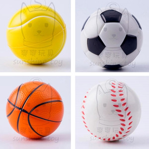 Squeezing Balls Football Basketball Tennis Baseball Soccer Squeezy Balls Anti Stress Balls Kids Squeeze Finger Decompression Toys H38CWGZ