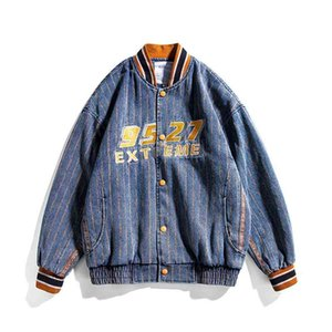 ATN men's clothing - 2021 spring American fashion brand Baseball Jacket couple student work loose jacket for male
