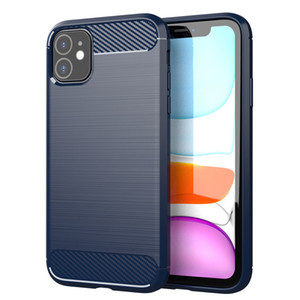 Carbon Fiber Case For iPhone 11 12 Pro Mini X Xr Xs Max 6 6S 7 8 Plus Phone Cover For Samsung S21 S20 Ultra S10 S9 Plus S8 Note 20 10 9 8