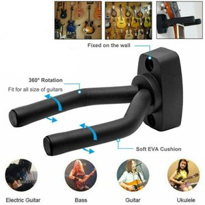 Wall Mount Guitar Hanger Hook Non-Slip Holder Stand Ukelele Bass Instrument Guitar Accessories Violin For Acoustic N3Y7