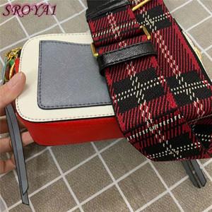 Borsa da donna Designer di lusso 2021 Borse Lettera Strada a spalla larga Doppia Zipper Mini Quadrato Designer Designer Designer Banco a tracolla di lusso BOBS Crossbod