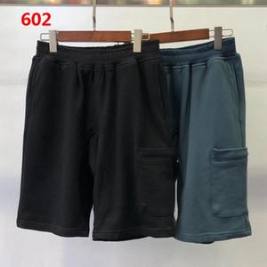 Summer Men Shorts Joggers Pantaloni Pantaloni maschili Pantaloni da uomo Pantaloni in solido Pantaloni Blu Blu Pantaloncini in cotone M-2XL