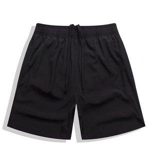 Casual Escatch Shorts Sólido Quarto Back Bolso Zipper Beach Calças Esticar Troncos de Natação Masculinos
