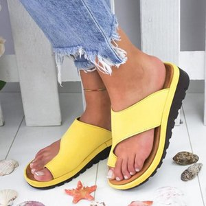 Women's Slippers New Female Flat Platform Shoes Casual Wedges Shoes Womans Slides House Slippers Flip Flops Women Beach