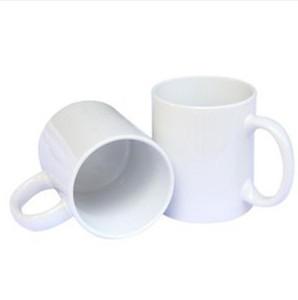 Sublimación en blanco Taza Personalidad Transferencia térmica Taza de cerámica 11oz White Water Cup Gifts Gifts Drinkware Sea Envío WWA132