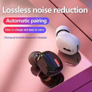 Mini Auricolare senza fili auricolare Bluetooth 5.0 Auricolare 3D Stereo Auricolari stereo X9 Mini Auricolare invisibile Mono Ear Wireless