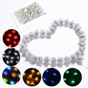 빛나는 LED 풍선 조명 야외 장식 다채로운 작은 공 빛 눈송이 라이트 파티 장식 빛 AHD5467