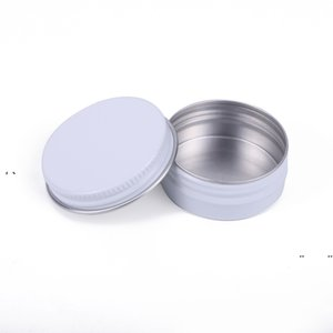 NEW15ML Metal Aluminium Bottle Tins Lip Balm Containers Empty Jars Screw Top Tin Cans EWA6388