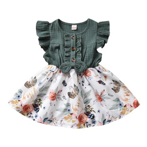 Baby & children's clothes Baby Dress Girls Dress Princess Bridesmaid Pageant Longsleeve 6M-5T