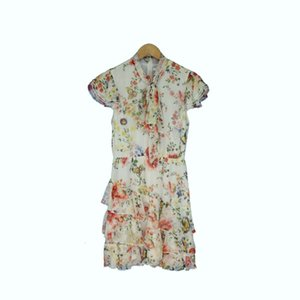 2021 New Sping Vero Feminino Floral Mini Vestido Para Mulerer Flor Sepido Babados Lao Senhoras Sexy Praia Vestidos Certos 9s1b