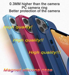 2021 Venta al por mayor y OEM Nueva caja de silicona de silicona y portada trasera para 12 mini pro max con caja de venta al por menor