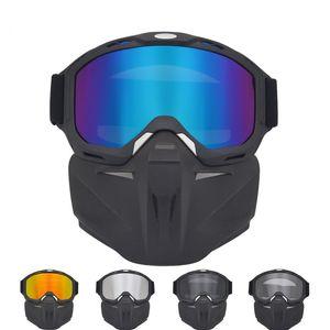 Ski Snowboard Glasses Face Mask Snow Ski Glasses Snowmobile skiing Mask Snowboard Glasses Windproof Motocross Sunglasses Outdoor 23 X2