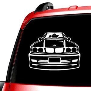 Three Ratels TZ-777 12*16.2cm 1-5 pieces car sticker for bmw e34 auto removable