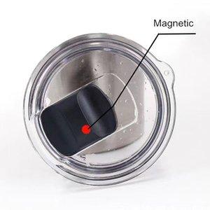 20 once 30 once Coperchi magnetici Versatori per tazze da caffè Tazze da tè Acciaio inossidabile Bicchieri per le perdite Lids2021