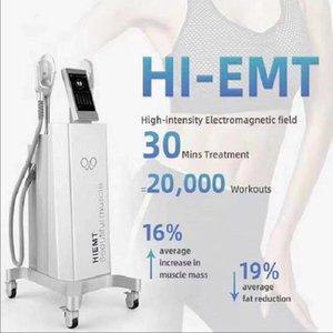 2020the latest EMslim HI-EMT machine EMS electromagnetic muscle stimulation fat burning stereotype hiemt